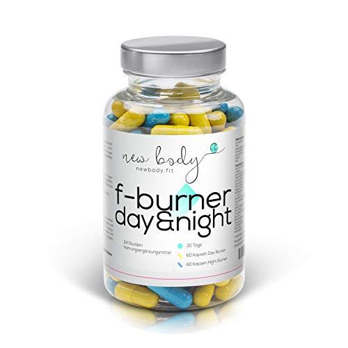AKTION F-Burner Day&Night - 24 h - Tag und Nacht! 100% natürlich. Auch zusätzlich zu jeder Diät.