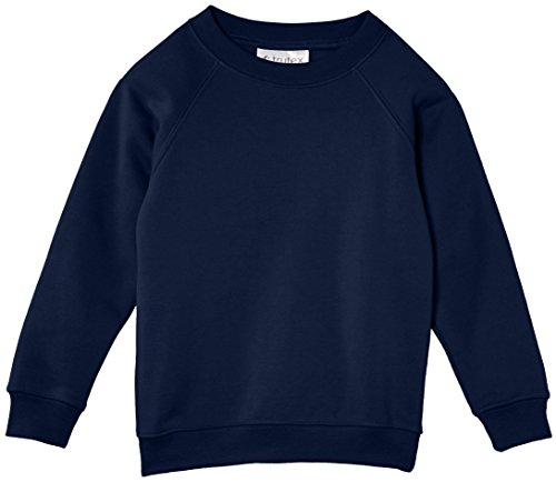 Trutex Unisex Crew Neck Sweatshirt, Ink Blue, 5-6 Years (Manufacturer Size: 22-23