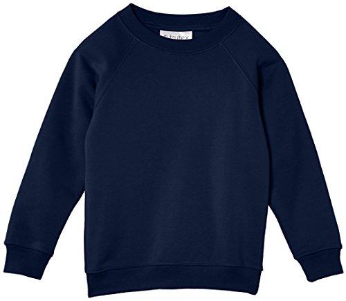 Trutex Unisex Crew Neck Sweatshirt, Ink Blue, 5-6 Years (Manufacturer Size: 22-23