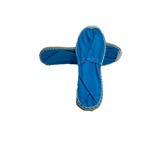 Esparto flach espadrille Made in Spain blau Blau