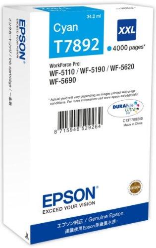 Epson C13T789240 Cartuccia, Ciano