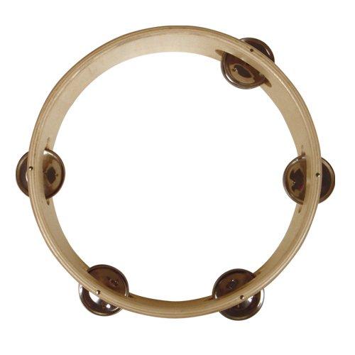 REIG 15cm Holz Ring Tambourine