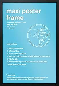 GB Eye Limited FMMXA1BK Black Maxi Poster Frame - 61cm x 91.5cm