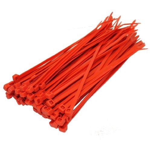 All Trade diretta 100 X Fascette Red 200mm X 4.8mm...