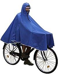 Anyoo Capas de Ciclismo Impermeables Portátiles Ligeras Poncho de Lluvia Bicicleta Compacta Unisex Reutilizable para Mochileros