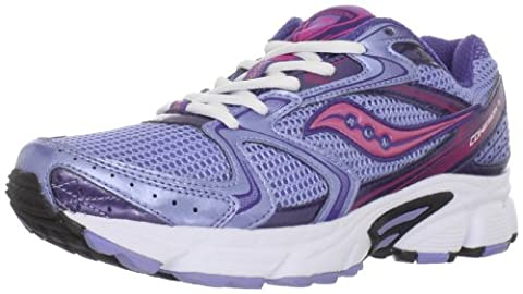 Saucony - womens Grid Cohesion 5 Running Shoe in blue Running Shoes Women - UK 7 - Blue
