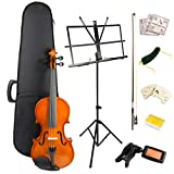 Windsor VIOLINSK44 Violin Super kit, includes case, bow, 2xRosin 2x bridge, spare strings
