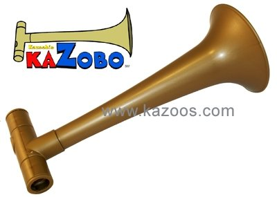 Kazobo : Kazoo aus Kunststoff mit 2 Membranen, Länge 25cm