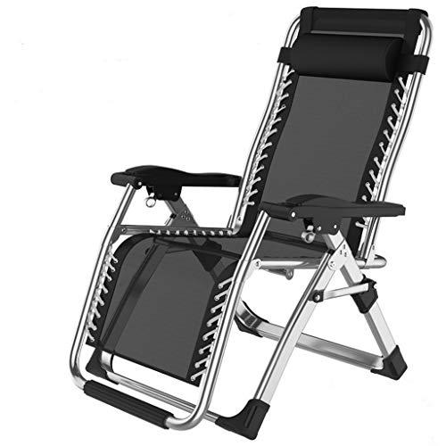 Gdfr5g5d Gartenliegestuhl Einzelbüro Mittagsschläfchen Mittagspause Stuhl Fauler Rückenlehnenstuhl Liegender Gartenstuhl Strandliegestuhl Liegestühle aus Tweed Wetterfest (Color : O)