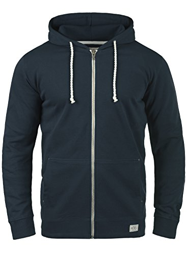 REDEFINED REBEL Mark Herren Sweatjacke Zip Hoodie Kapuzenjacke