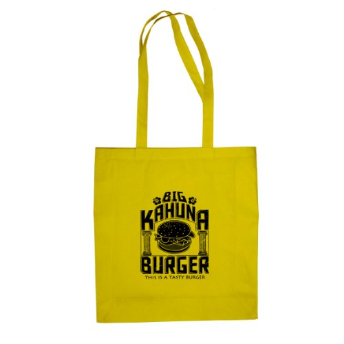 Big Kahuna Burger - Stofftasche/Beutel, Farbe: gelb -