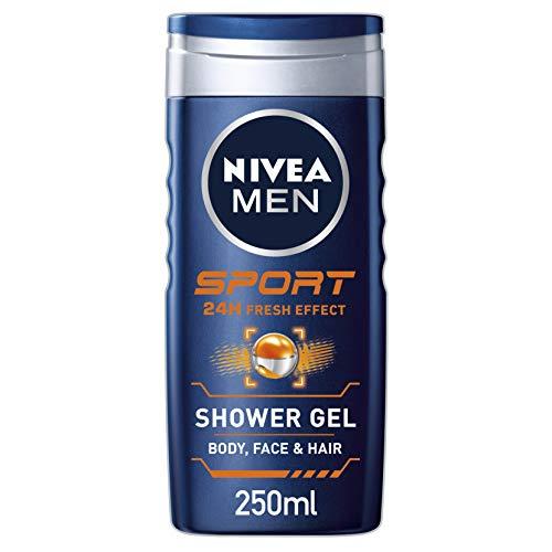 NIVEA MEN Sport Shower Gel 250ml (6 x 250ml)