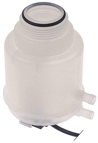 Dihr Salzbehälter für Spülmaschine Electron500, Electron400, HT-11-Touche mit Magnetschalter ø 90mm Höhe 125mm Kunststoff