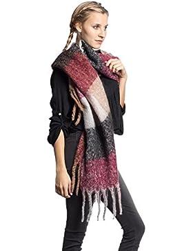 Abbino CG002 Bufandas para Mujeres - Multiplo Colori - Elegante Entretiempo  Otoño Invierno Sensibilidad Moda Mujer 52d0b724c580