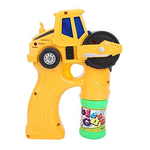 ine Bubble Gun Soap Kids Toy mit Musik & Sound Outdoor Garten Spiele Geburtstags Party Geschenk(Gelb) ()