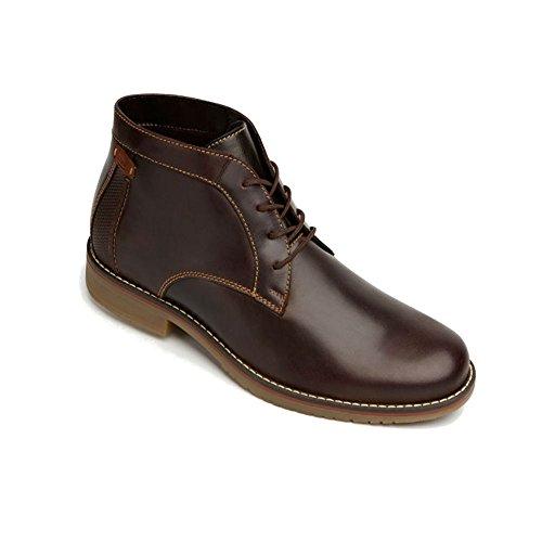 sports shoes 8cb6c 66563 Flexi Shoes Botas de Piel Para Hombre Marrón Chocolate, Color Marrón, Talla  41