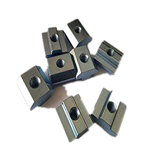 10 teile/los T Schiebemutter Block Vierkantmuttern M4 f¨¹r 2020 Aluminiumprofil Slot 6 Aluminium stecker Accessor