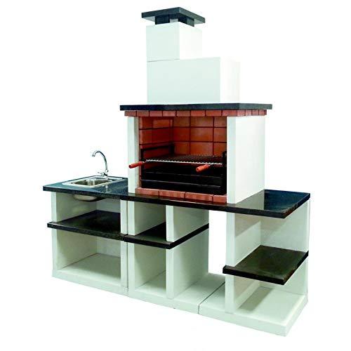 Barbecue de pièce Nijar complète