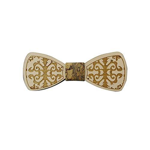 YAOSHI-Bow tie/tie Krawatten und Fliegen für Krawatte handgefertigte Retro grüne hölzerne Bögen hölzerne Fliege Fliege Männer und Frauen Krawatten und Fliegen für (Grünen Und Hosenträger Bogen-krawatte)