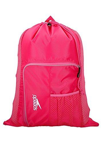 Speedo Deluxe Ventilator Mesh Bag, Pink, 15x15x2 cm -