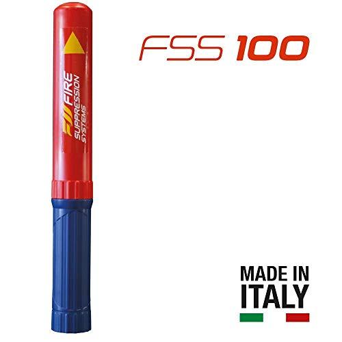 FSS 100 - estintore per imbarcazioni - estintore per camper - estintore per auto e moto