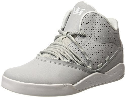 Supra ESTABAN, Sneaker alta Unisex - adulto, Grigio (Grau (LIGHT GREY - OFF WHITE   LGY)), 42