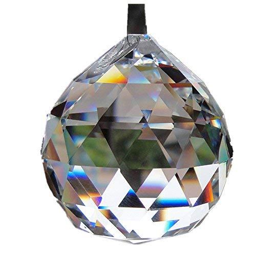 GEN KRISTALL KUGEL Prisma Regenbogen Suncatcher Anhänger DIY ()
