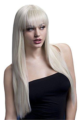 d Glatte Perücke mit Pony, 66 cm, Jessica Perücke, Blond, One Size, 42538 (Blonde Kostüme Ideen)