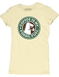 David and Goliath Fossil Fuel Womens T-shirt