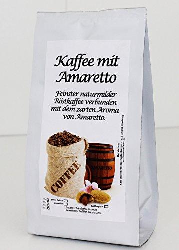 aromatisierter Kaffee Amaretto Mandel, 1000 g gemahlen