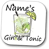 Personalised Coaster - Gin and Tonic!