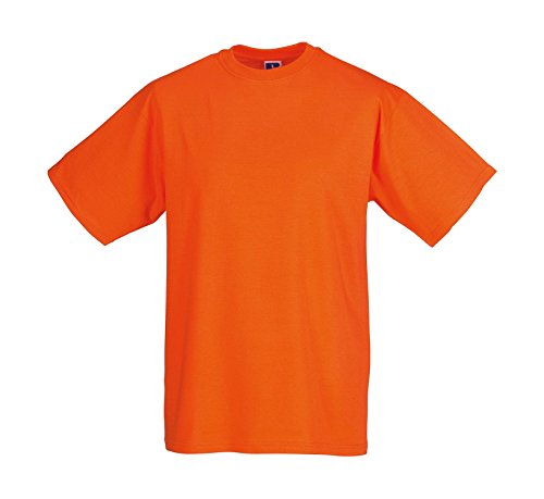 Leichtes T-Shirt Orange