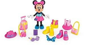 Minnie Mouse- Fashion Dolls 2: Viajera, Multicolor (IMC Toys 182905)