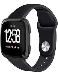 Exing Hebilla de Reloj Puede para Reloj Inteligente Fitbit Versa de TPU  Correa de Reloj Pulsera 868bcd19d65