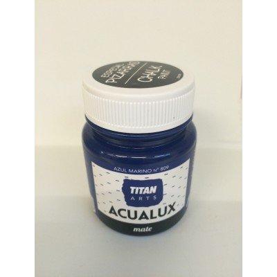 titan-chalk-paint-farbe-mit-kreide-effekt-809-marineblau-100-ml