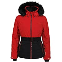 Luhta Bieta L7–Chaqueta de esquí para mujer, Mujer, color Coral/Red, tamaño small