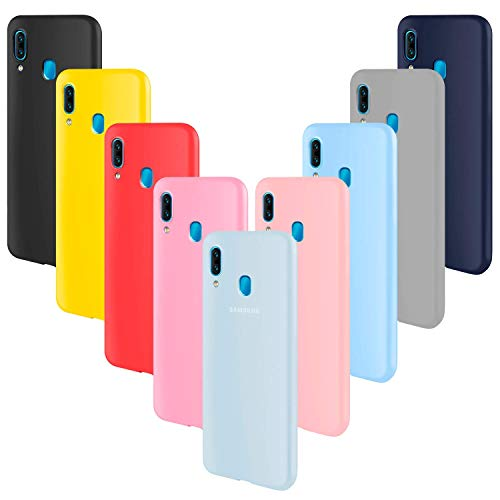 RINOJF Funda Compatible Xiaomi Mi Mix 2s Protectora de Silicona líquida para teléfono móvil Todo Caso Carcasa Protectora de teléfono Inteligente Ultra Delgada película a Prueba de Golpes(Rojo)