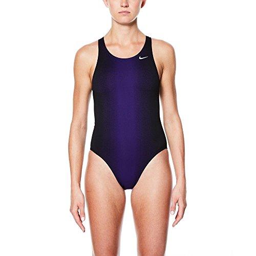 Nike Damen Badeanzug Fade Sting Fastback One Piece - Mehrfarbig - 42 - Nike Damen Badeanzug