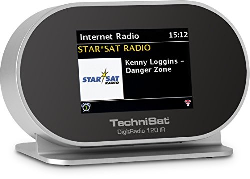 TechniSat DIGITRADIO 120 IR Digitalradio mit Internetradio, Multiroom-Streaming, Bluetooth, WLAN, UPnP-Audio Streaming, Spotify Connect