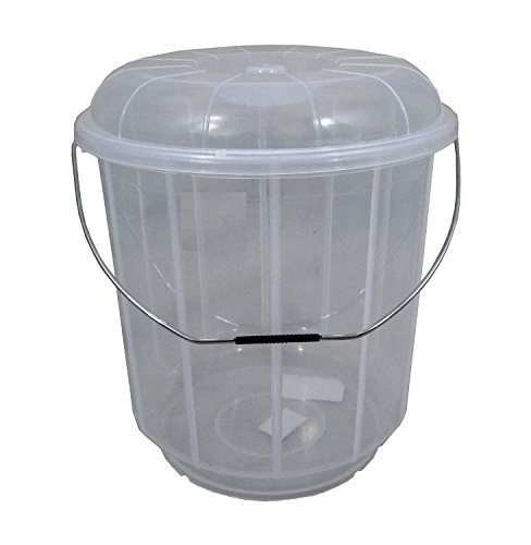 13L-Litre-Plastic-Bucket-With-Lid-Carry-Handle-Ideal-for-Pet-Food-Animal-Feed-Wild-Bird-Seed-Grain-Corn-Storage