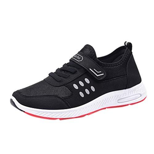 Zapatillas de Deportivos de Running para Muje riou Deslizamiento Transpirable Zapatos Antideslizantes para Caminar Casuales Deporte Gimnasia Ligero Sneakers