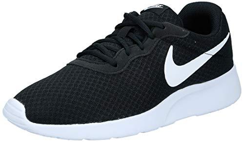 Nike Herren Tanjun Laufschuhe, Schwarz (011 Black/White), 44.5 EU
