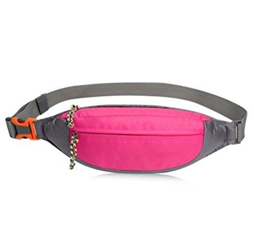 OOFWY Taille Tasche Pack Wasserresistent Fanny Pack Reise Bum Bag Running Gürtel für Reisen Radfahren Wandern Camping F