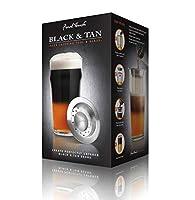 Créez la parfaite couches Black & Tan avec cet outil de stratification en acier inoxydable. Cet outil ralentit l'écoulement de sorte que vous pouvez superposer des bières de différentes densités telles que lagers et stouts. Remplissez simplement ...