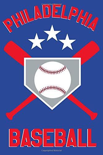 Philadelphia Baseball: Philadelphia Baseball Fan Blanked Lined 100 Page 6 x 9 inch Notebook Journal for Writing and Taking Notes por Ventana Baseball