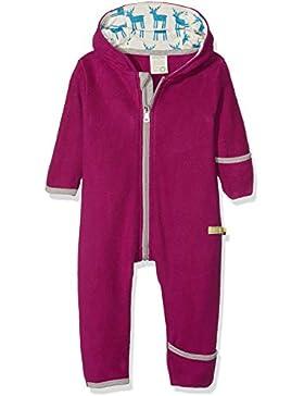 loud + proud Baby - Mädchen Schneeanzug Overall Fleece