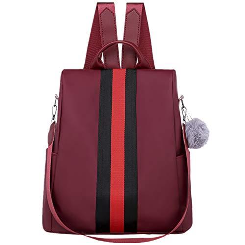Dorical Rucksack für Damen Frauen Oxford Stilvolle Rucksack Wasserdichte Schulrucksack Anti-Diebstahl Schultertaschen, Backpack Umhängetasche Tasche Handtasche Ausverkauf(A) -
