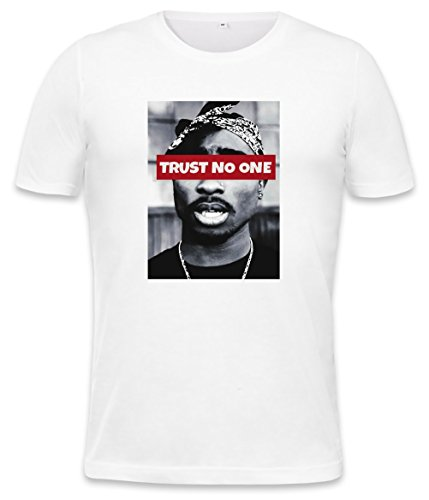 Trust No One Mens T-shirt Large -