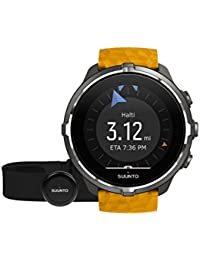 5 Spartan Sport WHR Baro Belt Reloj, Unisex Adulto, Ámbar, Talla Única