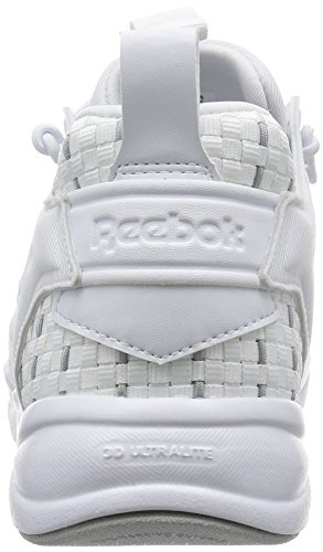 Damen Sneaker Reebok Furylite New Woven Sneakers Women White/Steel